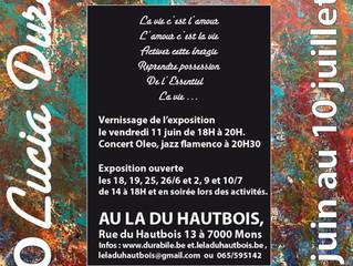 Exposition de peinture Lucia Durabile