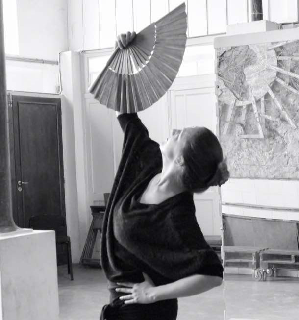 Eli, dansant le flamenco