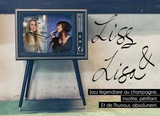 Liss et Lisa, le jazz au féminin le vendredi 28 août à 20H30.