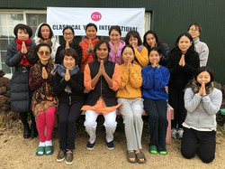Best wishes to all participants in today's Yoga Sadhana Class