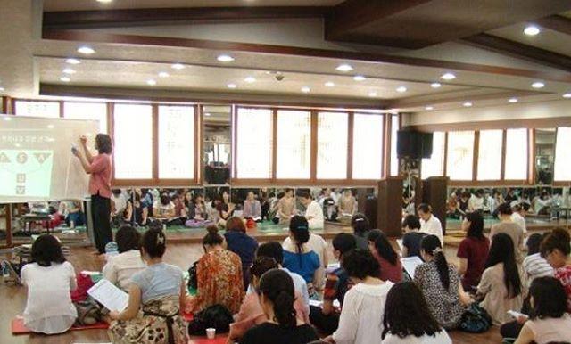 Hatha Yoga Psychology Teaching in South Korea