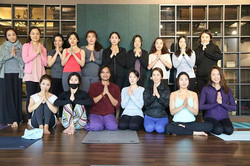 Thank you to all participants in today's class for making such a wonderful session together with sha