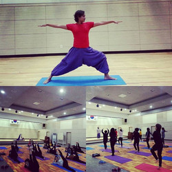 Classical Yoga Class with all age group