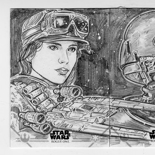 Jyn_Erso_K2SO_Rogue_One_Sketch_cooney.jp