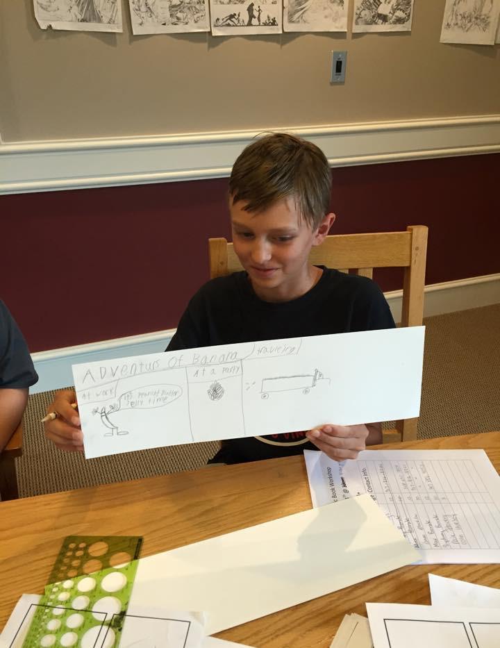 Comics Drawing Workshop at Oak Bluffs Public Library