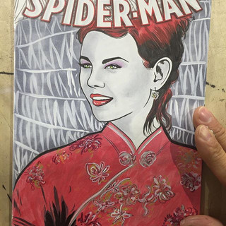 Commission of Kirsten Dunst as Mary Jane