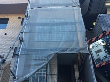 ガラスブロック防水塗装<セブンS>