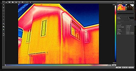 赤外線カメラ建物診断