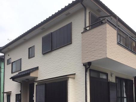 戸建て外壁塗装・塗り替え・草加市・2階建て