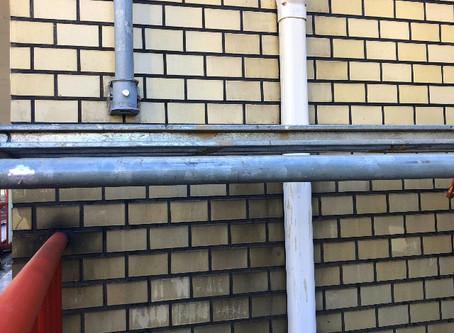 外壁タイル クリヤー塗装 下地処理