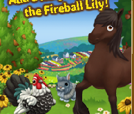 Add a fiery touch with the Fireball Lily! LE Items on Farms now.