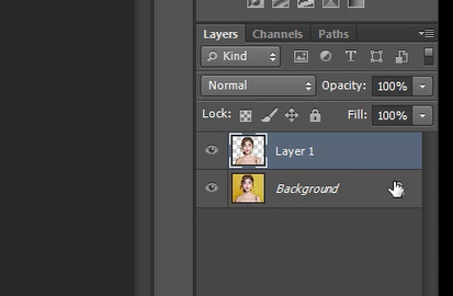 create duplicate of selection photoshop