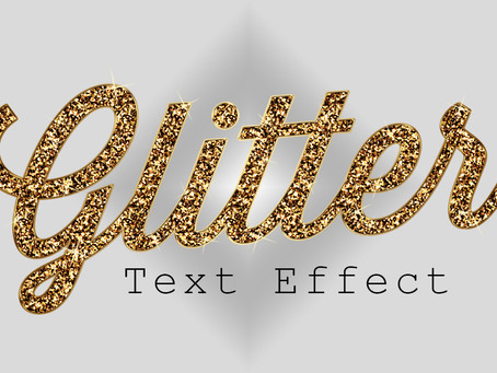 Glitter Text Effect | Photoshop Effect | Photoshop Tutorial