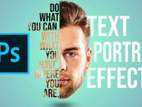 Text Portrait Effect | Photoshop Effect | Photoshop Tutorial