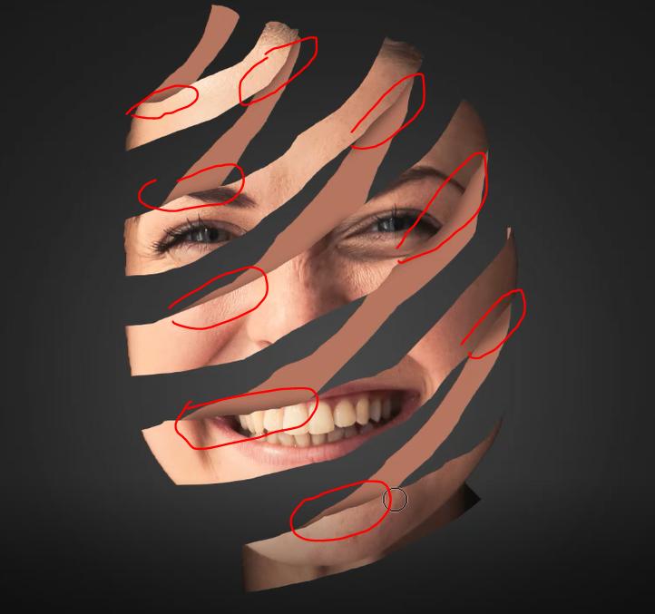 Adding shadow using brush tool in Photoshop