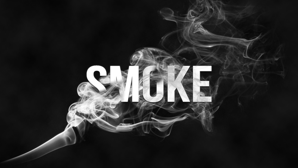 Smoke text effect in Photoshop