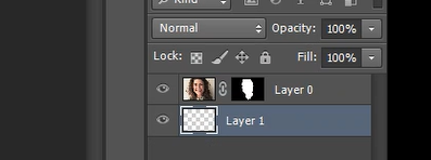 swapping layers in Photoshop