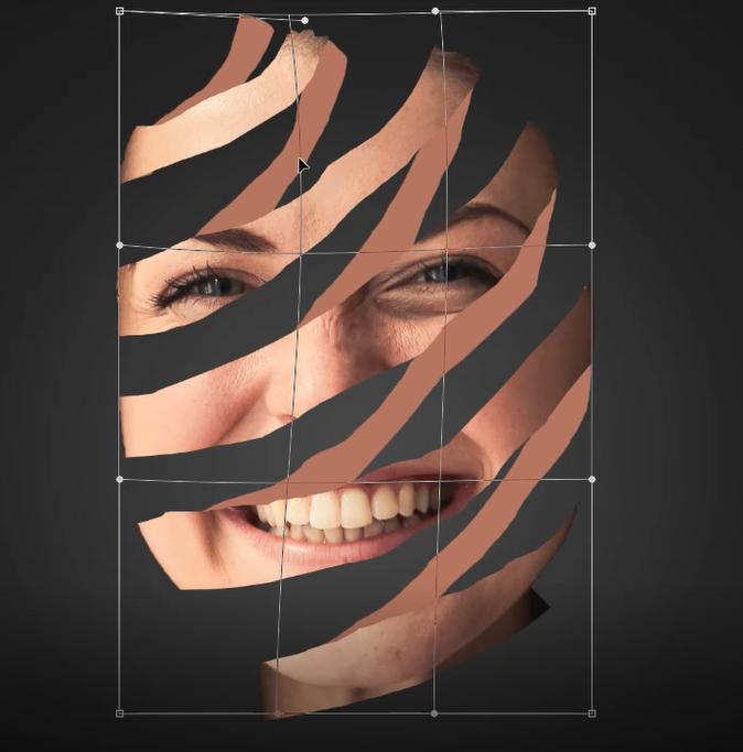 Warp in Photoshop