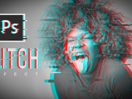 Glitch Effect | Photoshop Effect | Photoshop Tutorial