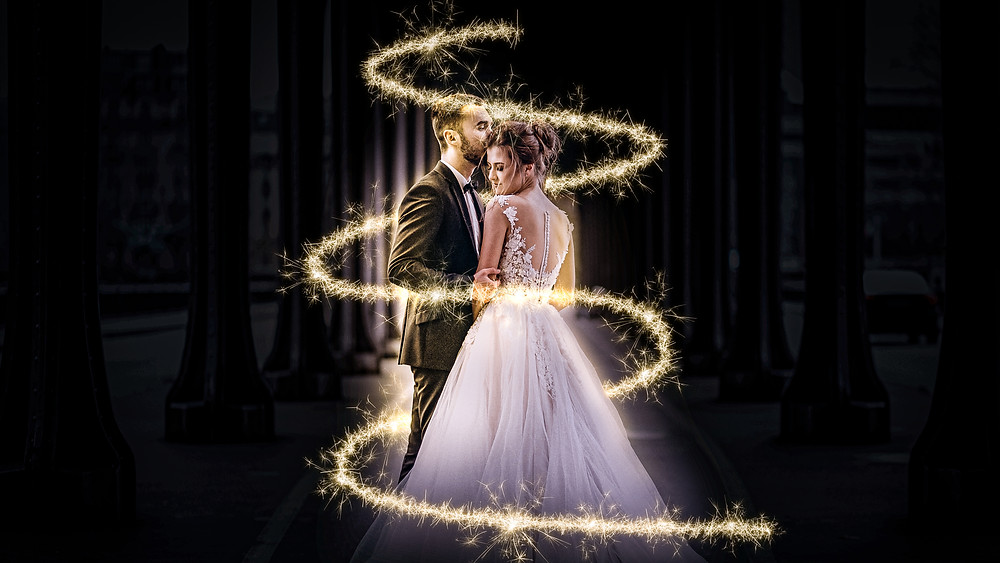 sparkle long exposure effect photoshop