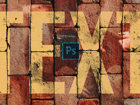 BLEND TEXT TO ANY SURFACE | TEXT EFFECT | PHOTOSHOP TUTORIAL