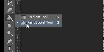 paint bucket tool photoshop