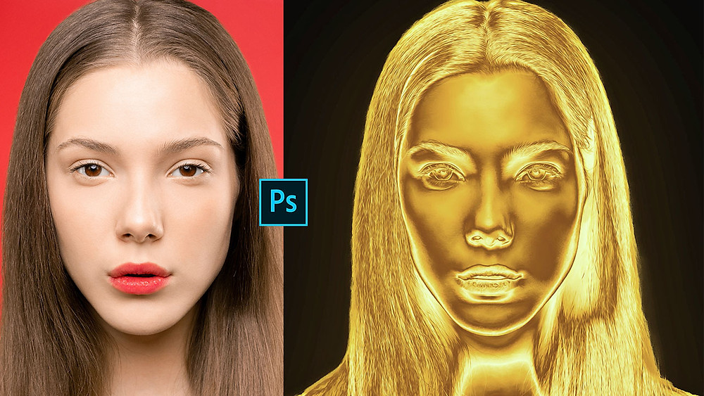 gold effect in photoshop