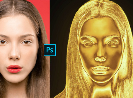 Gold Effect | Photoshop Effects | Photoshop Tutorial