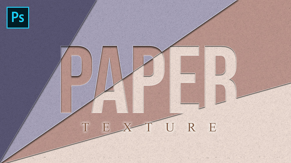 how to create paper texture in photoshop
