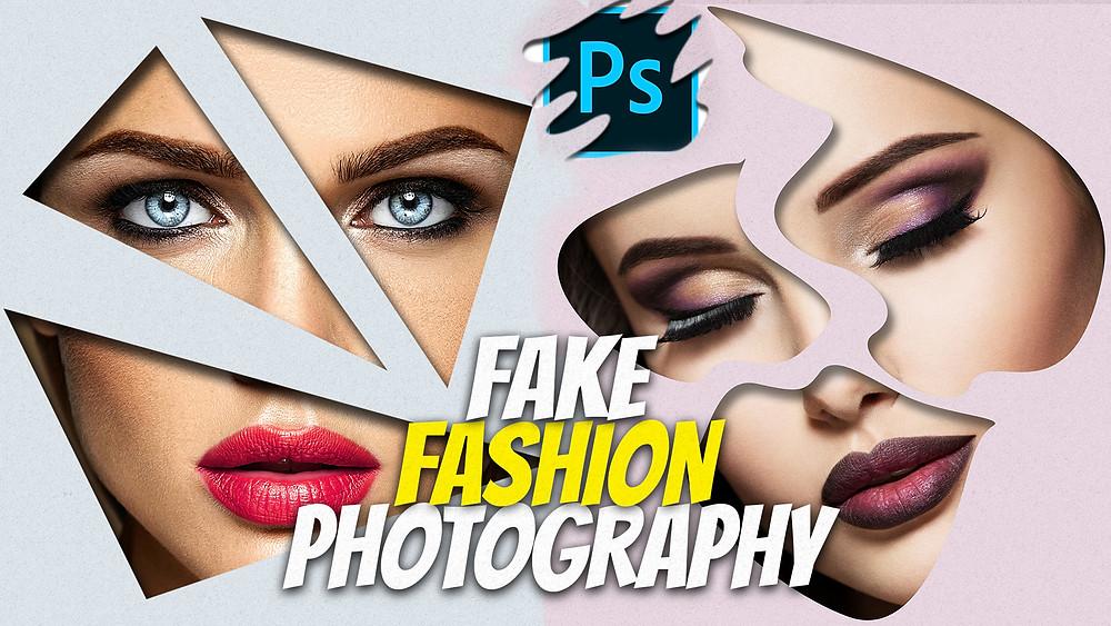 fashion photography using photoshop