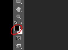 Foreground color icon in Photoshop