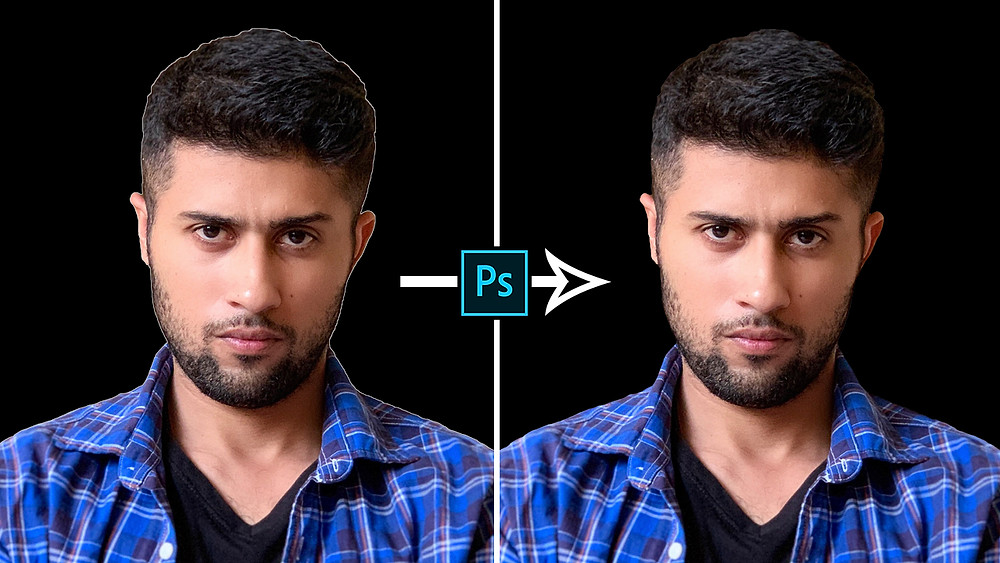 how to remove halos in photoshop