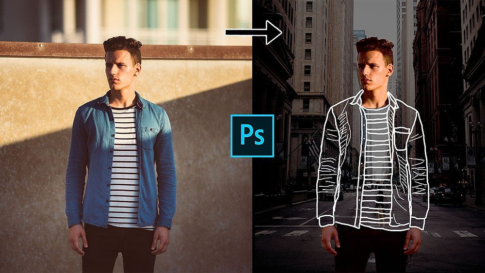 how to create invisible clothes effect in photoshop