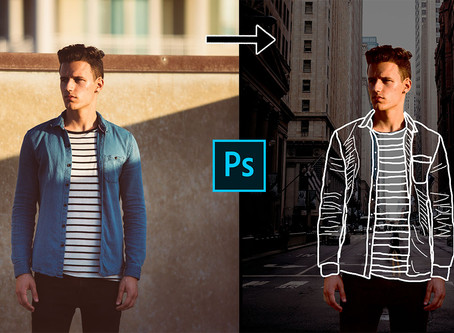 How to Create Invisible Clothes Effect in Photoshop | Photoshop tutorial