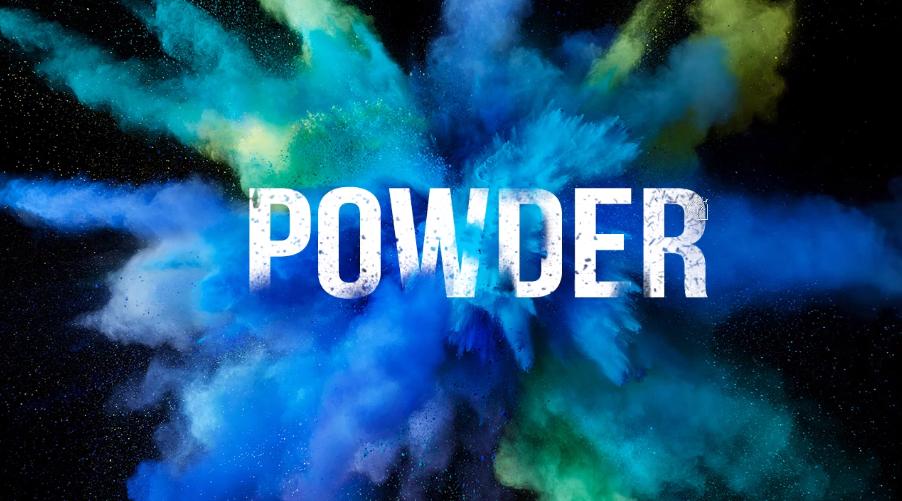 Powder blast effect in Photoshop