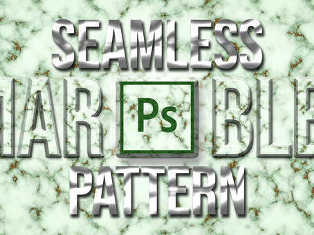 Seamless Marble Pattern in Photoshop | Marble Texture | Photoshop Tutorial