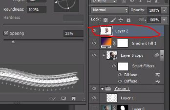 How to merge all layers into single layer in Photoshop