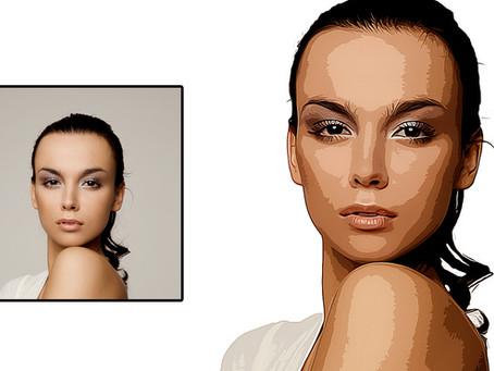 Vector Art Effect | Cartoon Effect | Photoshop Effects | Photoshop Tutorial