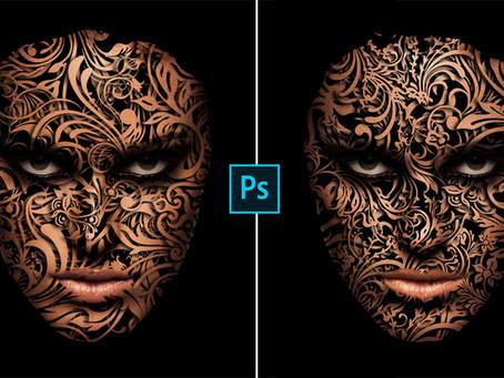 Face Design Effect | Photoshop Effect | Photoshop Tutorial