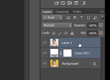 select multiple layers in photoshop
