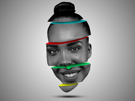 Sliced Face Color Effect | Photoshop Effect | Photoshop Tutorial