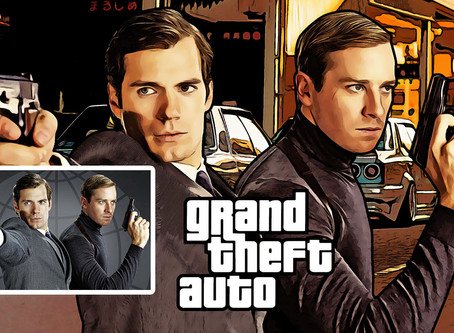 Grand Theft Auto Cartoon Effect | Photoshop Effects | Photoshop Tutorial