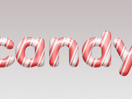 Glossy Candy Text Effect | Photoshop Effect | Photoshop Tutorial