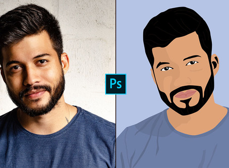 How to Create Art Using Pen Tool in Photoshop | Photoshop Tutorial