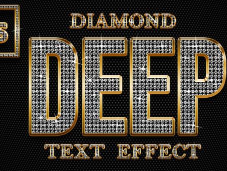 Diamond Text Effect | Photoshop Effect | Photoshop Tutorial