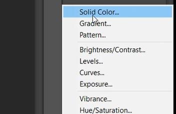 solid color photoshop
