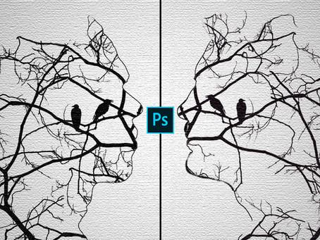 Portrait Tree Painting Effect | Photoshop Effect | Photoshop Tutorial