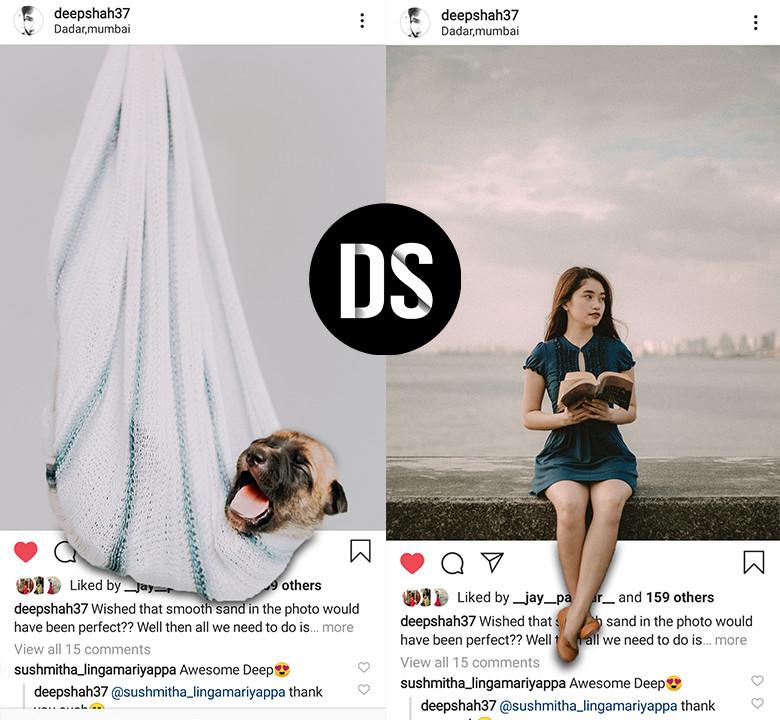 instagram 3d pop out effect photoshop