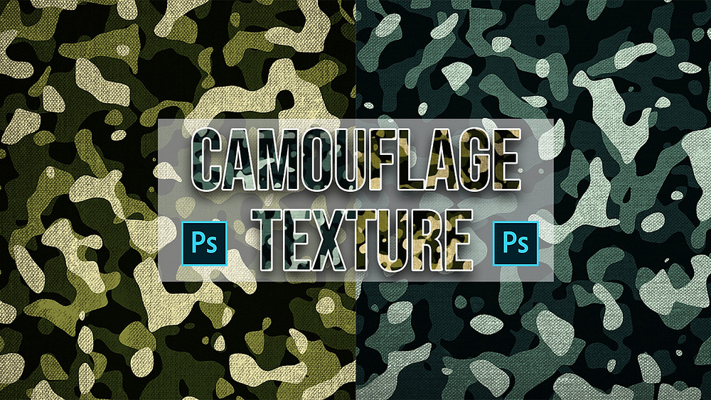 create camouflage texture in photoshop