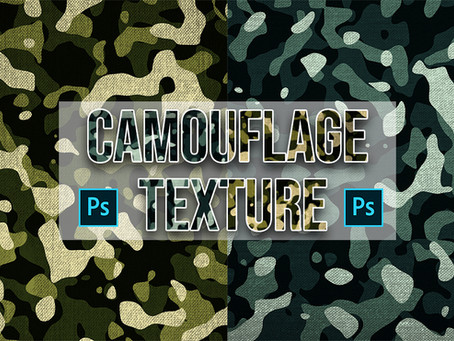 How to Create Camouflage Texture in Photoshop | Photoshop Tutorial